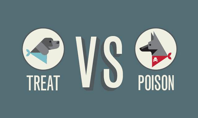 Image: Dog Treats Vs Poison: A Pet Health