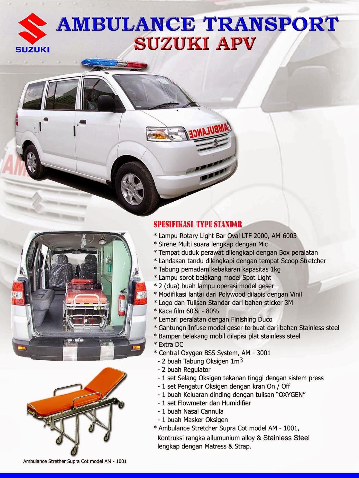 APV Ambulance Spesifikasi Standard 2014