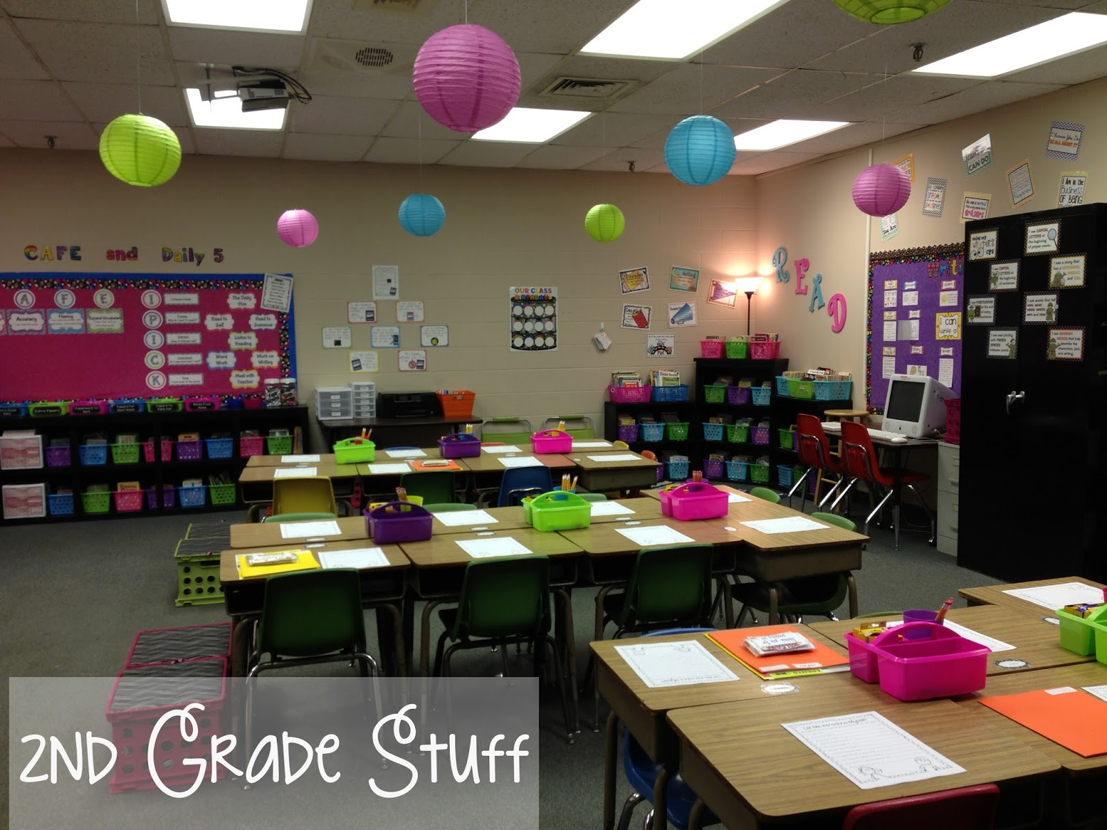 Classroom Ideas Second Grade ~ Nd grade stuff classroom tour