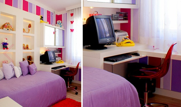 Rom quartos pequenos for Habitaciones para universitarios