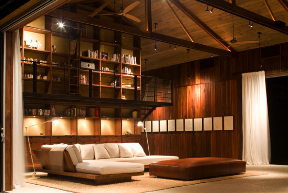 modern living room_barn conversion