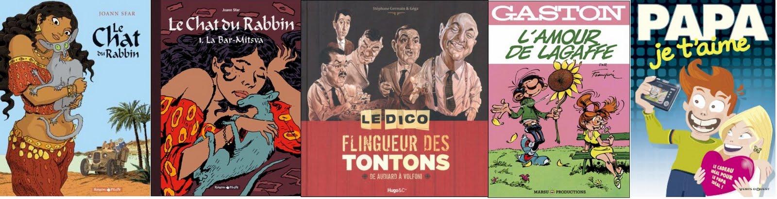 Le blog bd de manuel picaud meilleures ventes bd hebdomadaires au 26 juin 2011 - Tonton flingueur cuisine ...