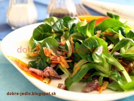 Poľníčkový šalát - recepty