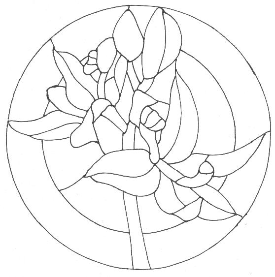 Riscos de vitrais para artesanato desenhos e riscos - Como pintar mosaicos ...