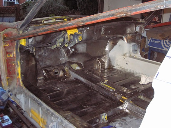 Ollieg S 914 Forward Cabin Clean Up And Paint