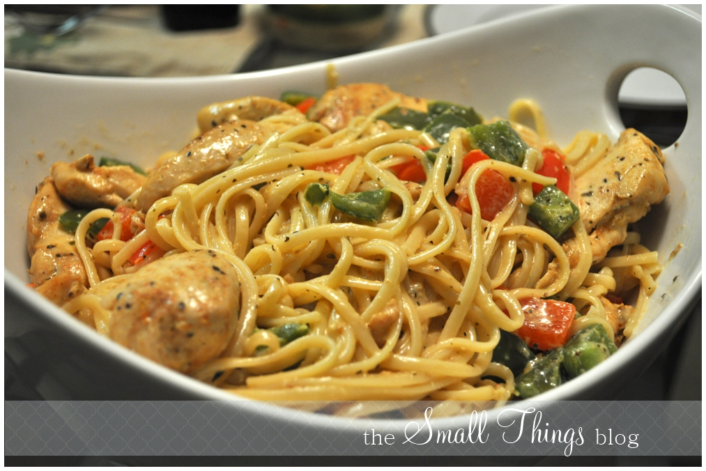 Cajun Chicken Pasta – The Small Things Blog