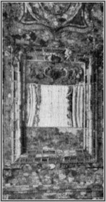 Beschädigung rechts unter dem Spiegel erkennbar