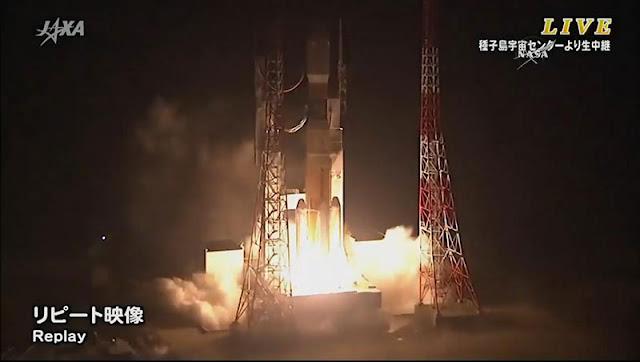 Lançada a carga HTV-5 com destino à Estação Espacial Internacional