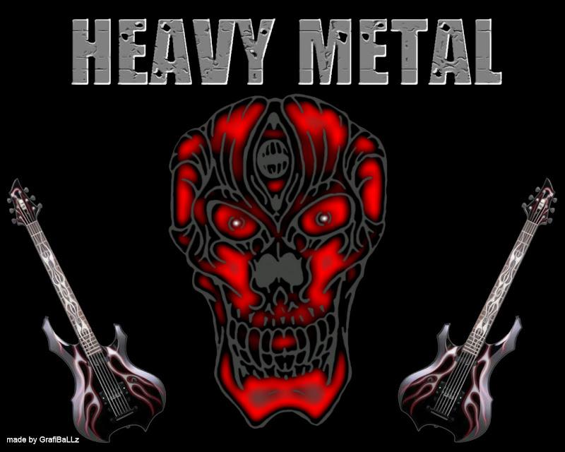 heavy metal adalah genre musik rock yang dikembangkan pada tahun 1960  title=