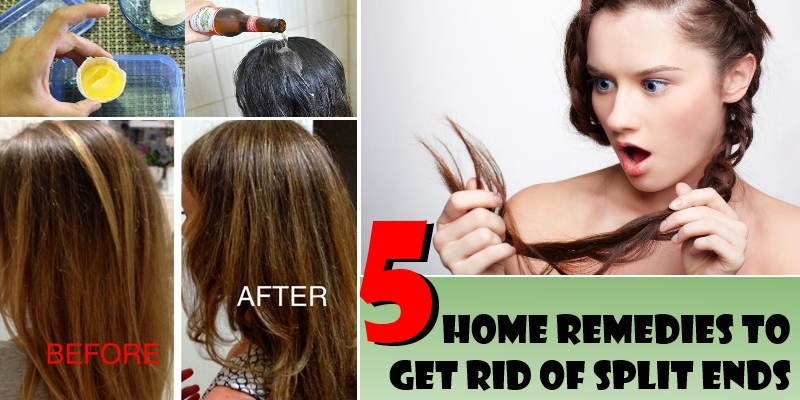 how to cut split ends at home