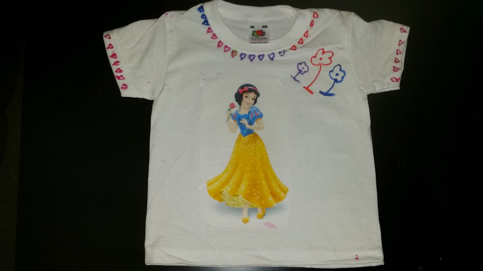 Ready to wear Designed T-shirt :)