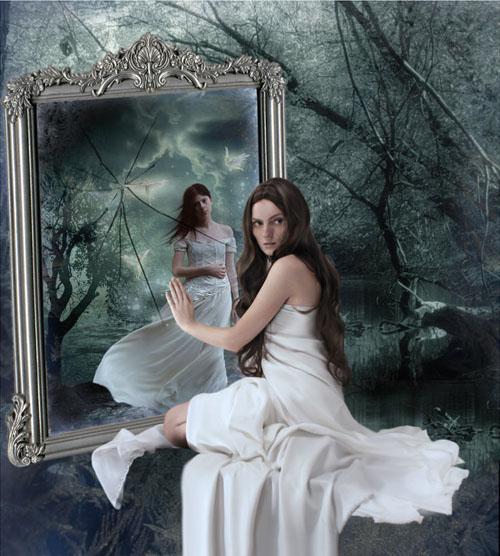 Tarocchi la magia dell 39 anima lo specchio - Specchio dell amata parafrasi ...