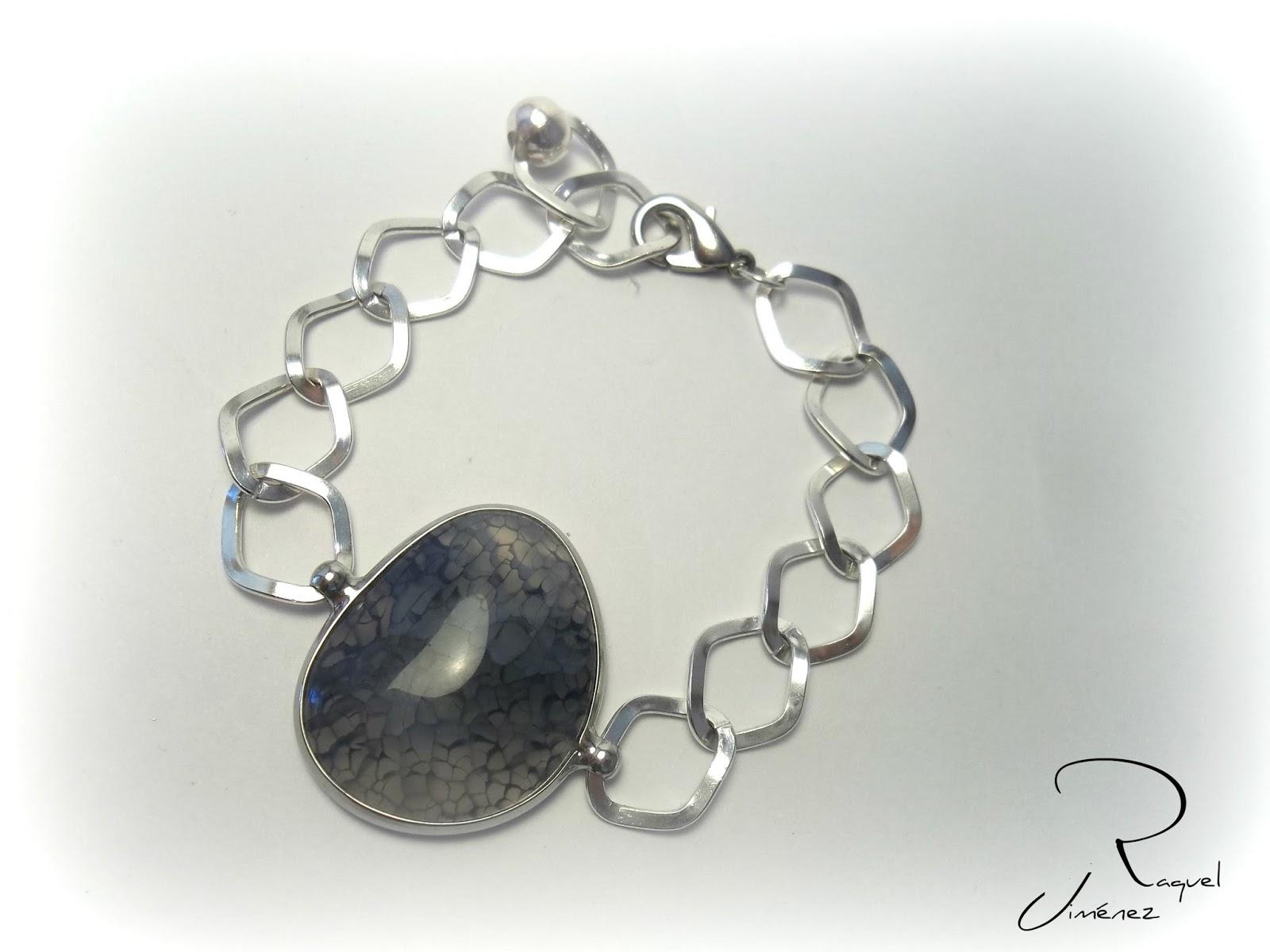 pulsera piedra azul