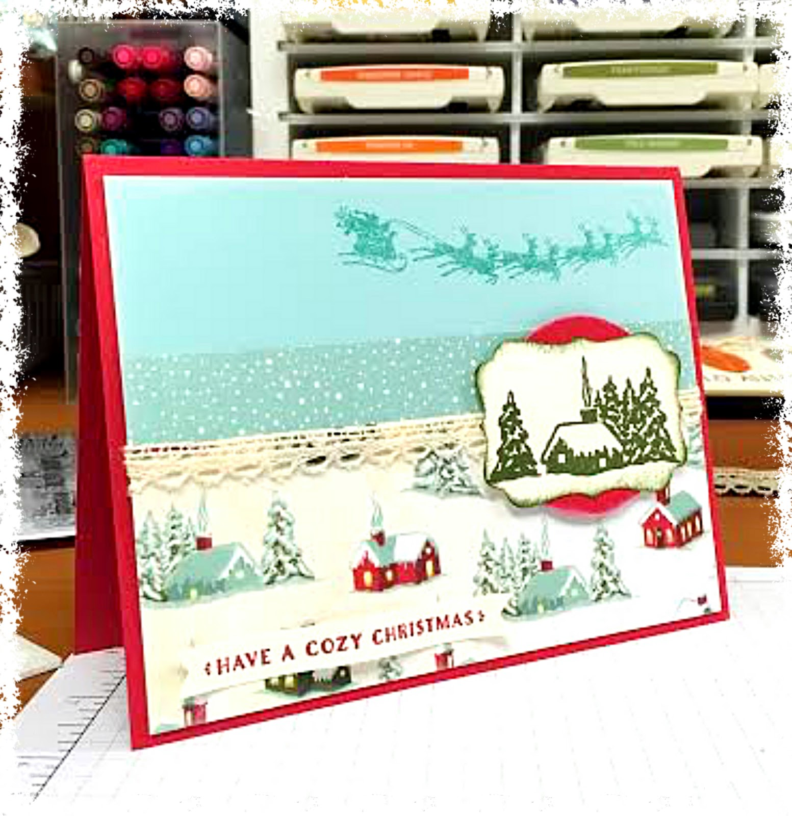 BadaBing! PaperCrafting!: Cozy Christmas
