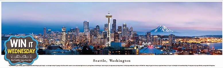 Seattle Skyline Panoramic Print