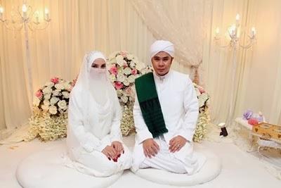 perkahwinan Adam AF dan Fiza Elite