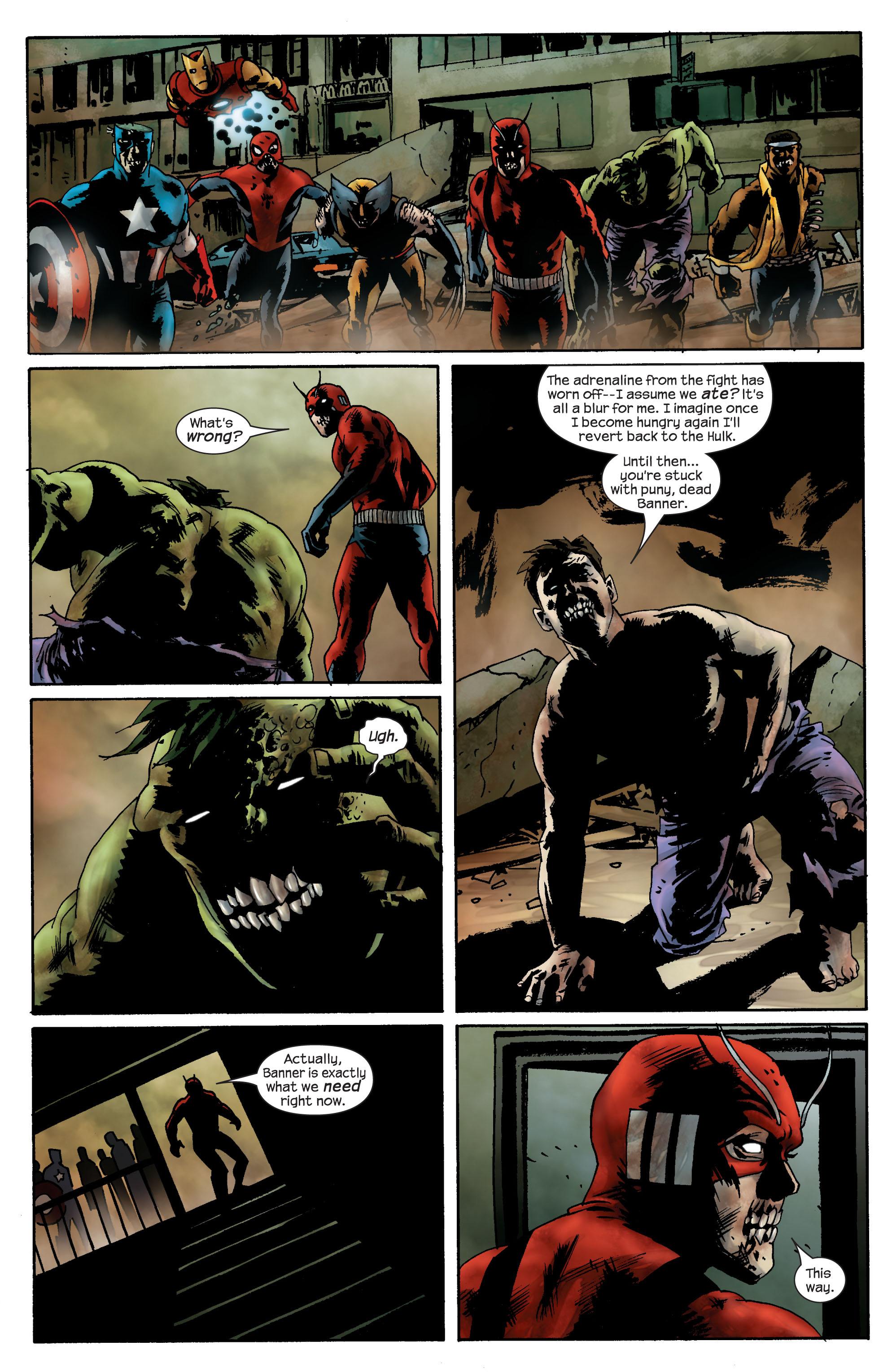 Marvel Zombies (2006) Issue #4 #4 - English 8