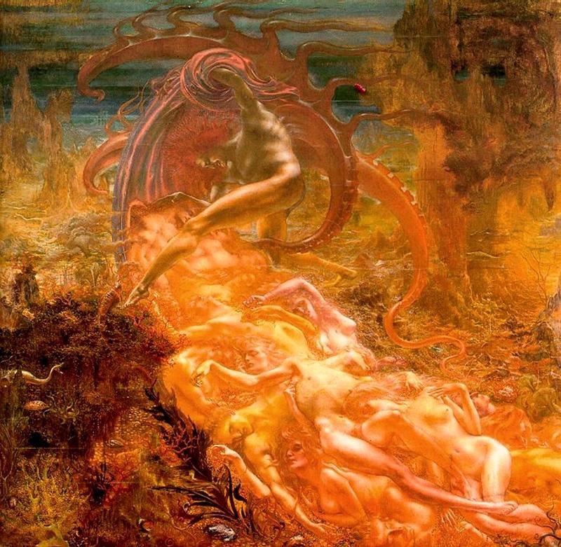 Jean Delville 1867-1953 - Belgian Symbolist painter