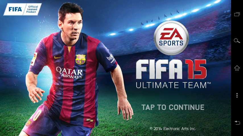Download Game FIFA 15 Ultimate Team APK Data