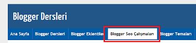 Blogger Dersleri - Blogger Etiketlerini Sayfaya Yönlendirme