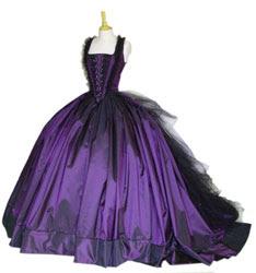 modelos de vestidos góticos