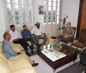 reunião da assp-pe - associação do praças  pmpe e cbmpe com o comandante geral em setembro de 2012
