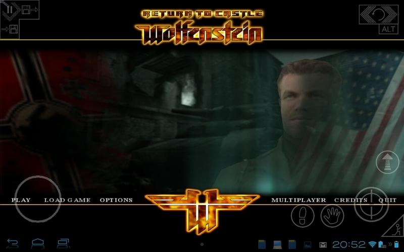 return to castle wolfenstein rc3 v2 1 0 apk data hd gaming