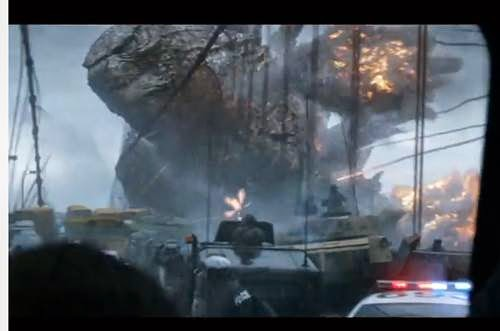 Godzilla Asian Movie Trailer explained?