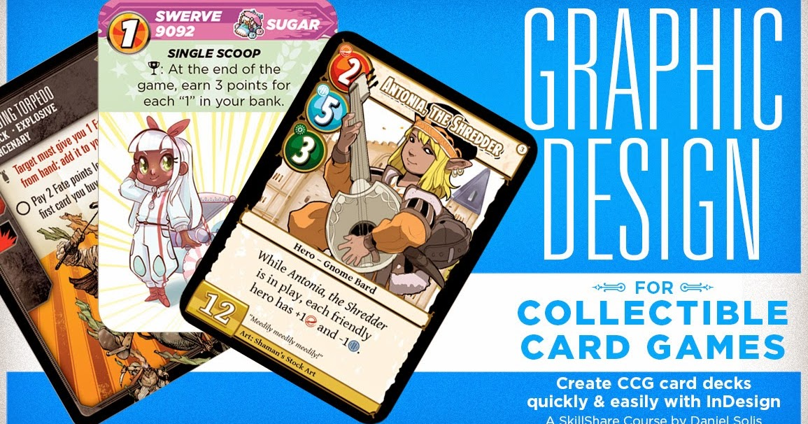 Design Your Own Collectible Card Game
