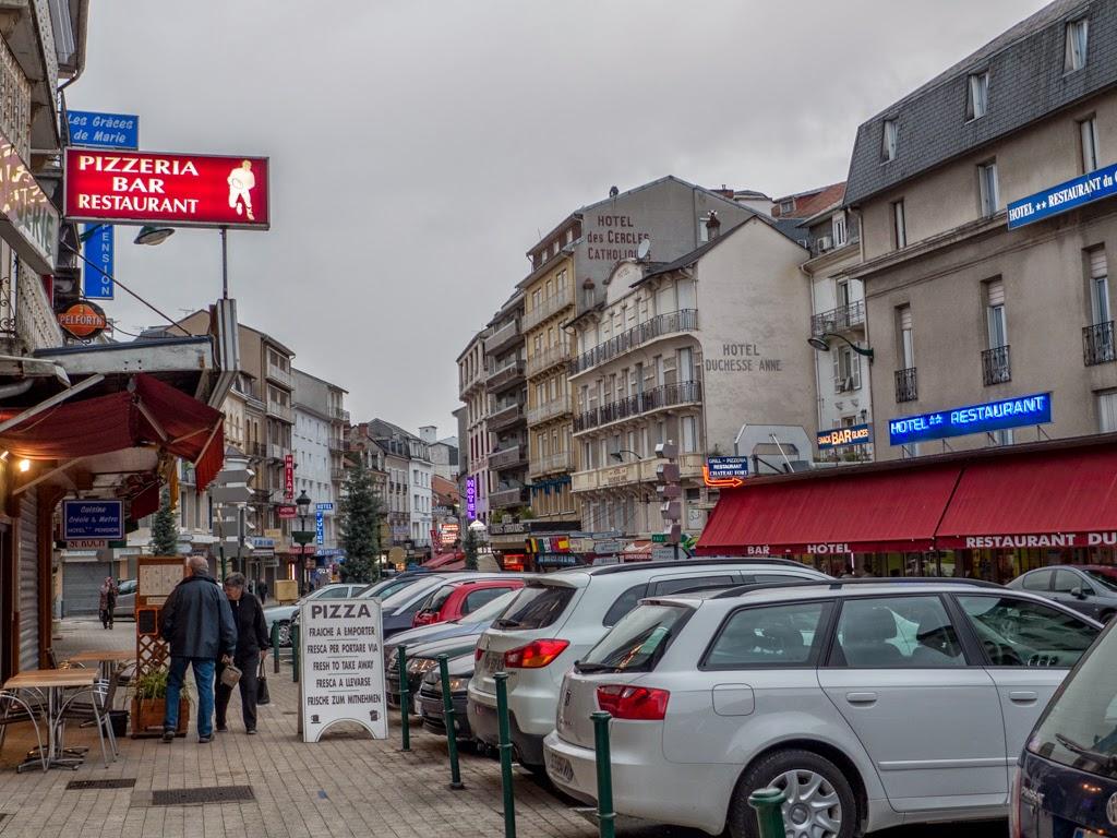 Lourdes France village