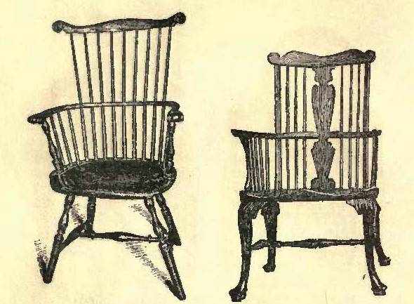 The Native American Wood Such As: Ash, Maple, Elm, Black Walnut And  Hickory, Were Commonly Used To Make The Colonial Furniture.