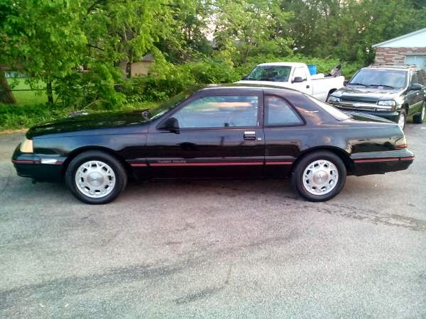 Check Out This Car 1988 Ford Thunderbird Turbo Coupe