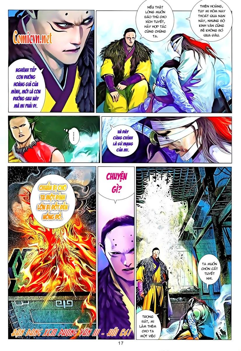 Phong Vân chap 641 Trang 17 - Mangak.info