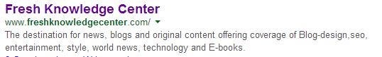 blogger search description.