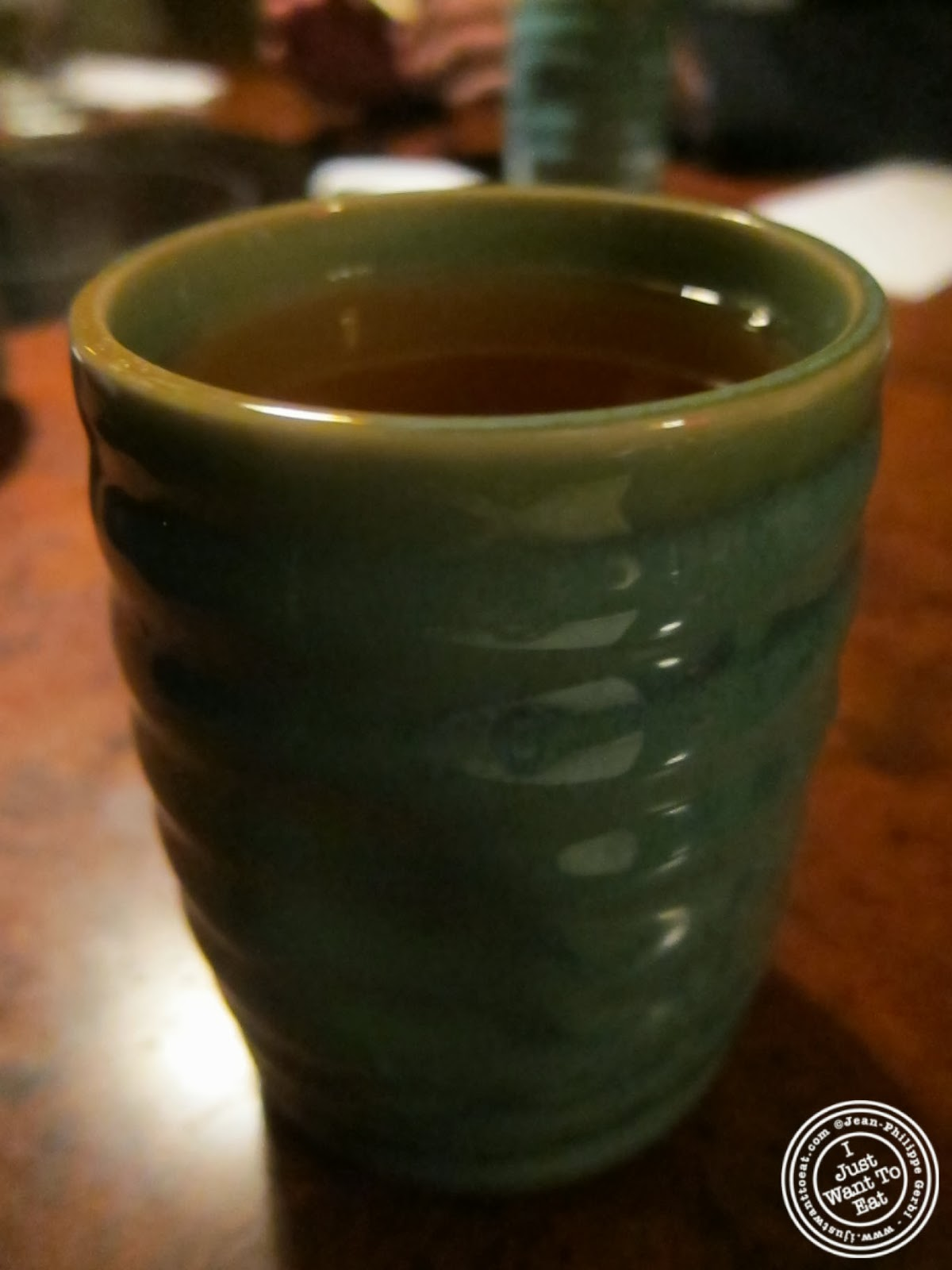 image of Green tea at East Japanese Restaurant in NYC New York & East Japanese Restaurant in NYC New York | I just want 2 eat