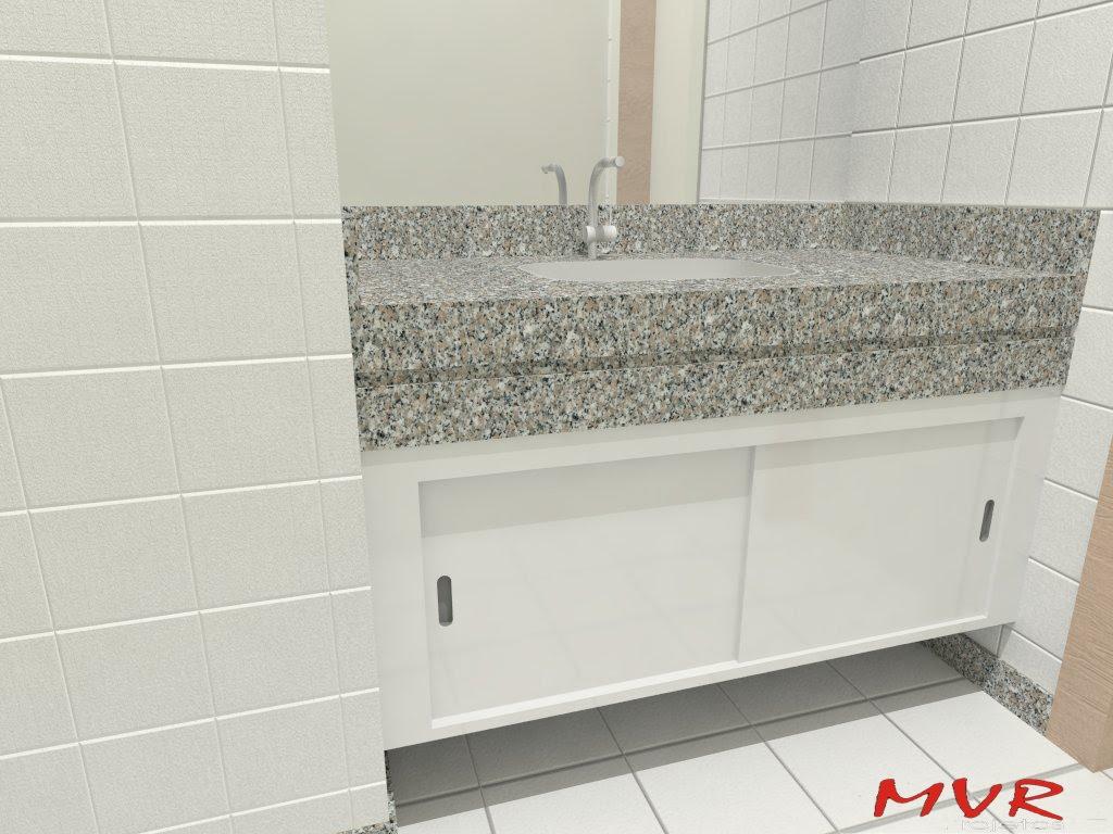 MVR Projetos: Armário para banheiro #AE241D 1024 768