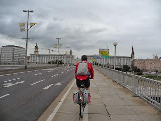 carril bici en Linz