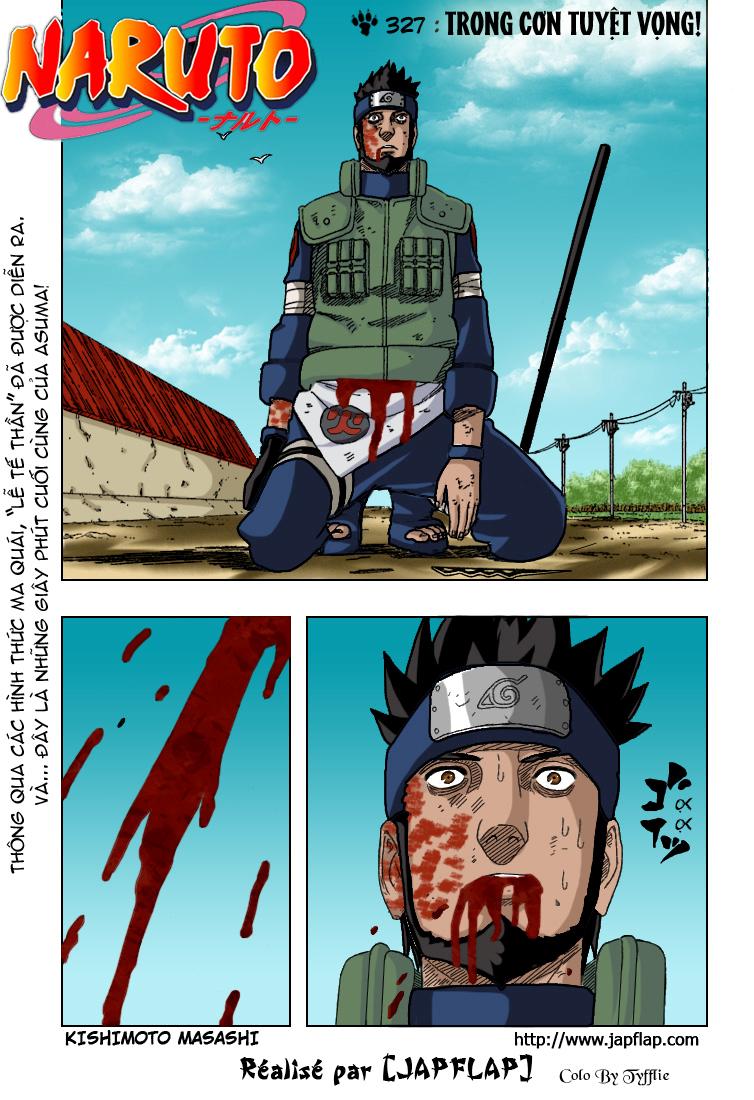 Naruto chap 327.Color Trang 1 - Mangak.info