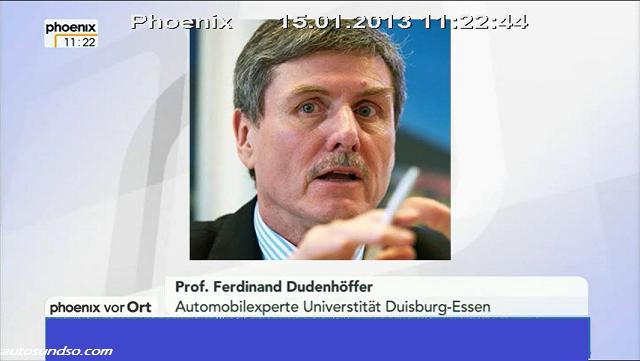 Dudenhöffer: Deutsche Autoindustrie hat Hybrid-Entwicklung verschlafen