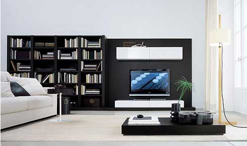 Modern stylish tv furniture designs an interior design - Modern tv interior design ...