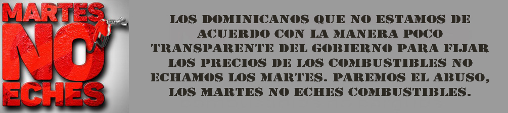 MARTES NO ECHES.