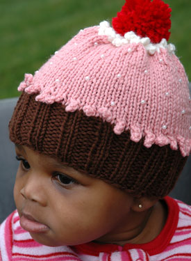 Free Knitting Pattern For Baby Cupcake Hat : BABY CUPCAKE HAT KNITTING PATTERN FREE - VERY SIMPLE FREE ...