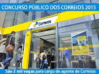 Apostila EMPRESA BRASILEIRA DE CORREIOS E TELÉGRAFOS 2015