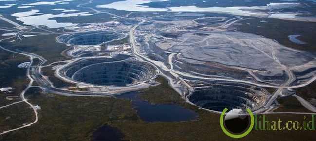 Pertambangan permata ekati , Kanada