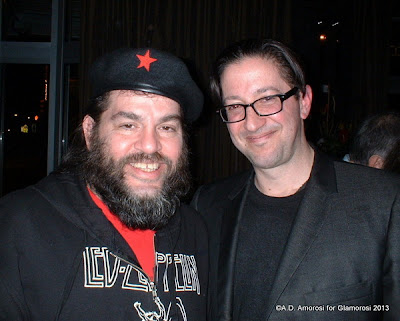 Hoagy Wing and Mike 'Slo Mo' Brenner at Tashan Restaurant in Philadelphia PA