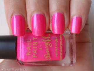 Barry M pink neon