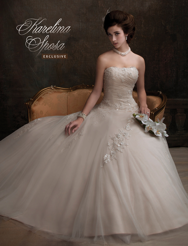 Wedding Gown With Bolero 71 Perfect Lovely strapless shimmering tulle