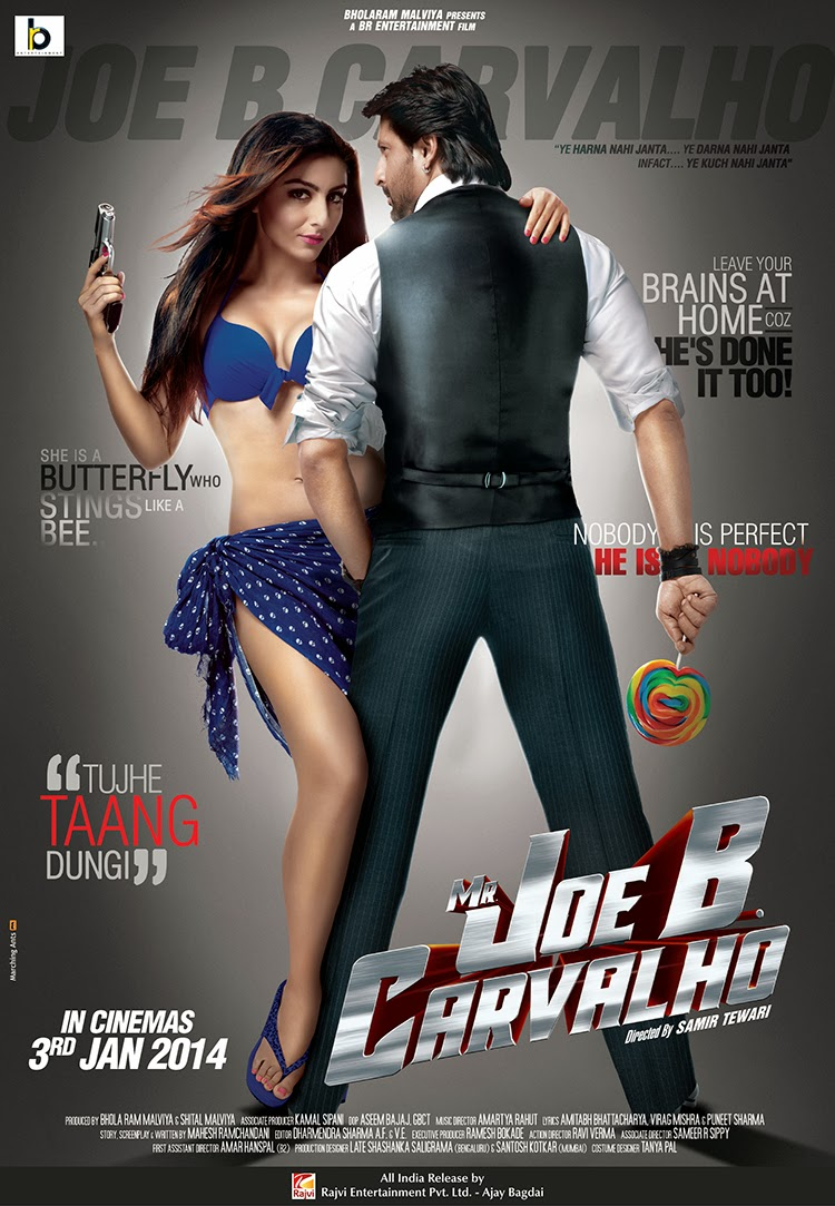 Watch Mr Joe B. Carvalho (2014) Hindi DVDScr Full Movie Watch Online For Free Download