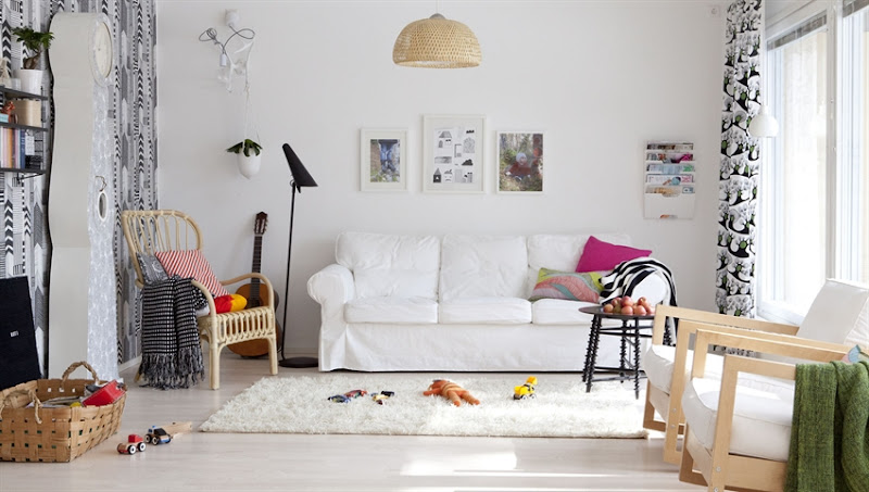 Living Room with Kids