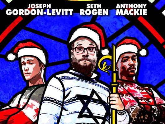 Seth Rogen, Joseph Gordon-Levitt y Anthony Mackie en el primer póster y tráiler de 'The Night Before'